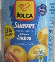 Aceitunas verdes rellenas de anchoa suaves - Product - es