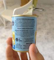 Aceitunas verdes rellenas de anchoa suaves - Ingredients - es
