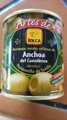 Aceitunas rellenas de anchoa del cantábrico - Product - es