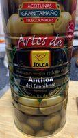 Aceitunas verde rellenas de anchoa del cantabrico - Informations nutritionnelles - es