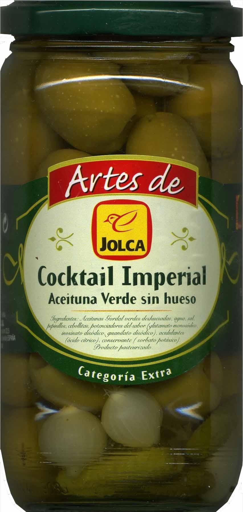 Artes de Jolca - Cocktail imperial - Producto