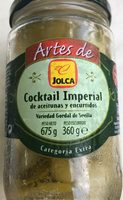 Cóctel imperial de aperitivos frasco 360 g - Produit - fr
