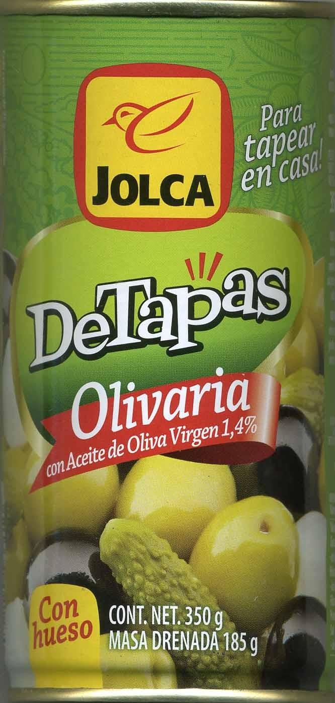 DeTapas - Olivaria - Producto - es