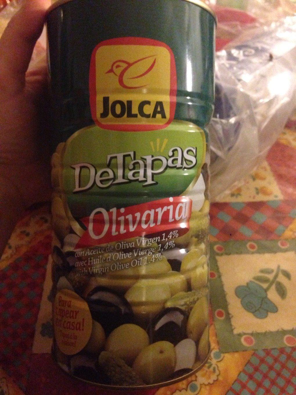 DeTapas Olivaria cocktel de encurtidos lata 1,5 kg - Product - es