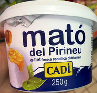 Mató del Pirineu - Produit - fr
