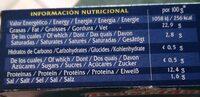 Moules en escabeche - Nutrition facts - fr