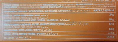 BOMBONISIMOS - Información nutricional - es