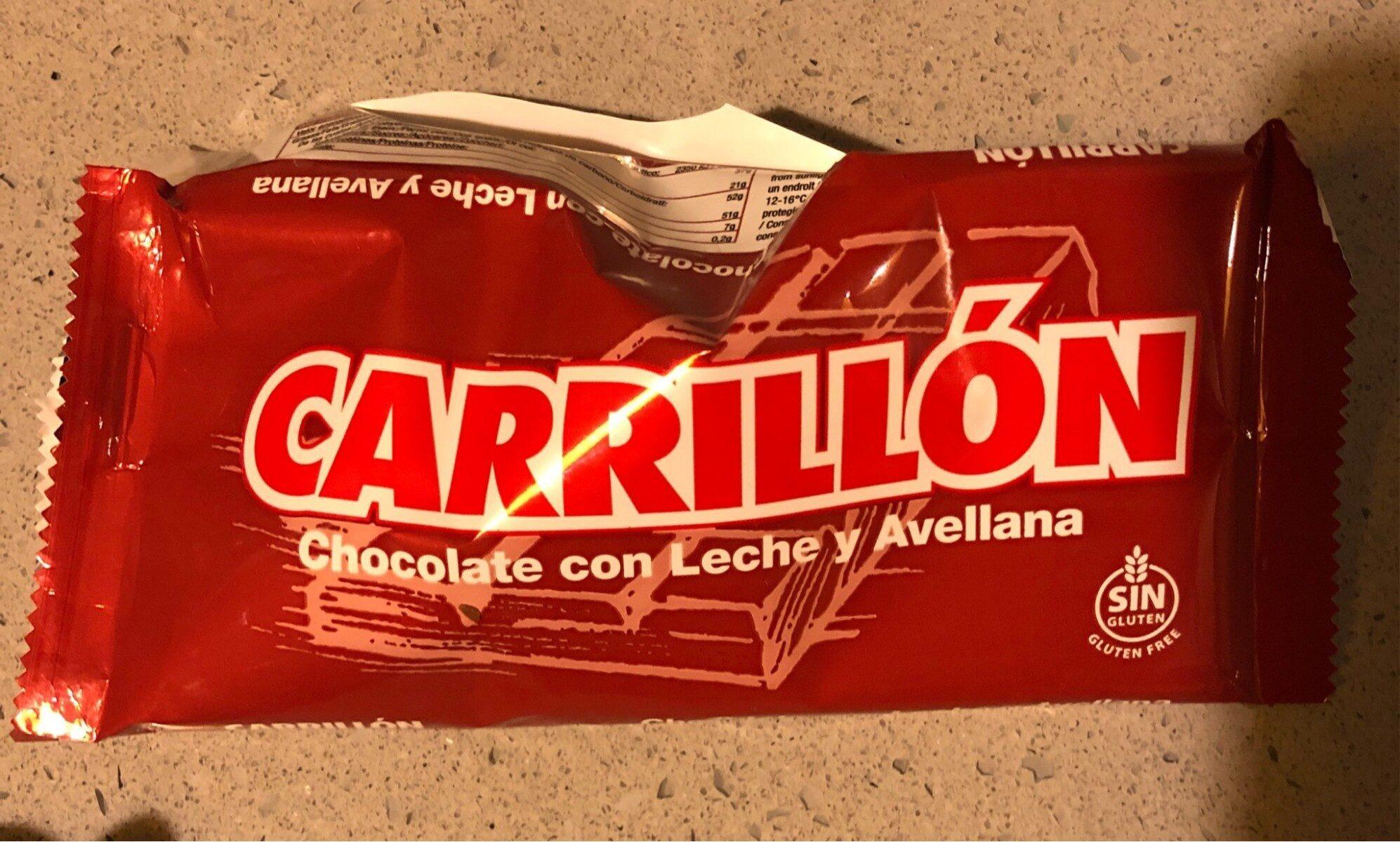 Cjocolate con leche y avellana - Product