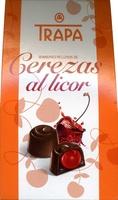 Bombones de chocolate rellenos de cerezas al licor - Producto