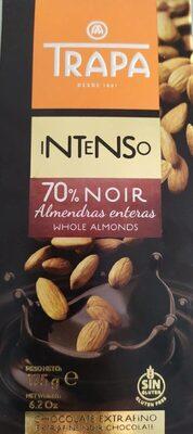Chocolate 70% con almendras