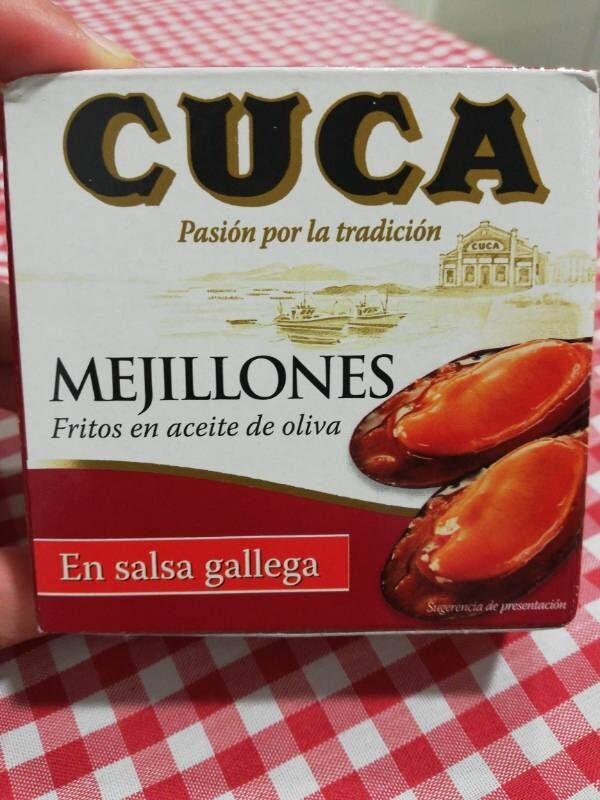 Mejillones en salsa gallega - Product - es