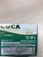 Bonito del Norte en aceite de oliva virgen extra - Información nutricional - es