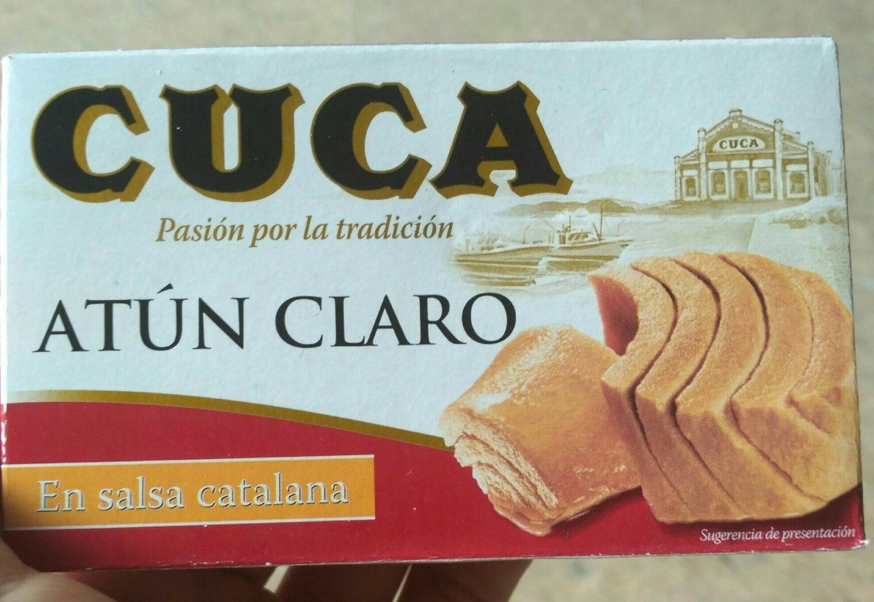 Cuca atún claro en salsa catalana - Producto