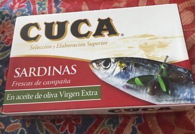 Sardine a l'huile d'olive - Product - fr
