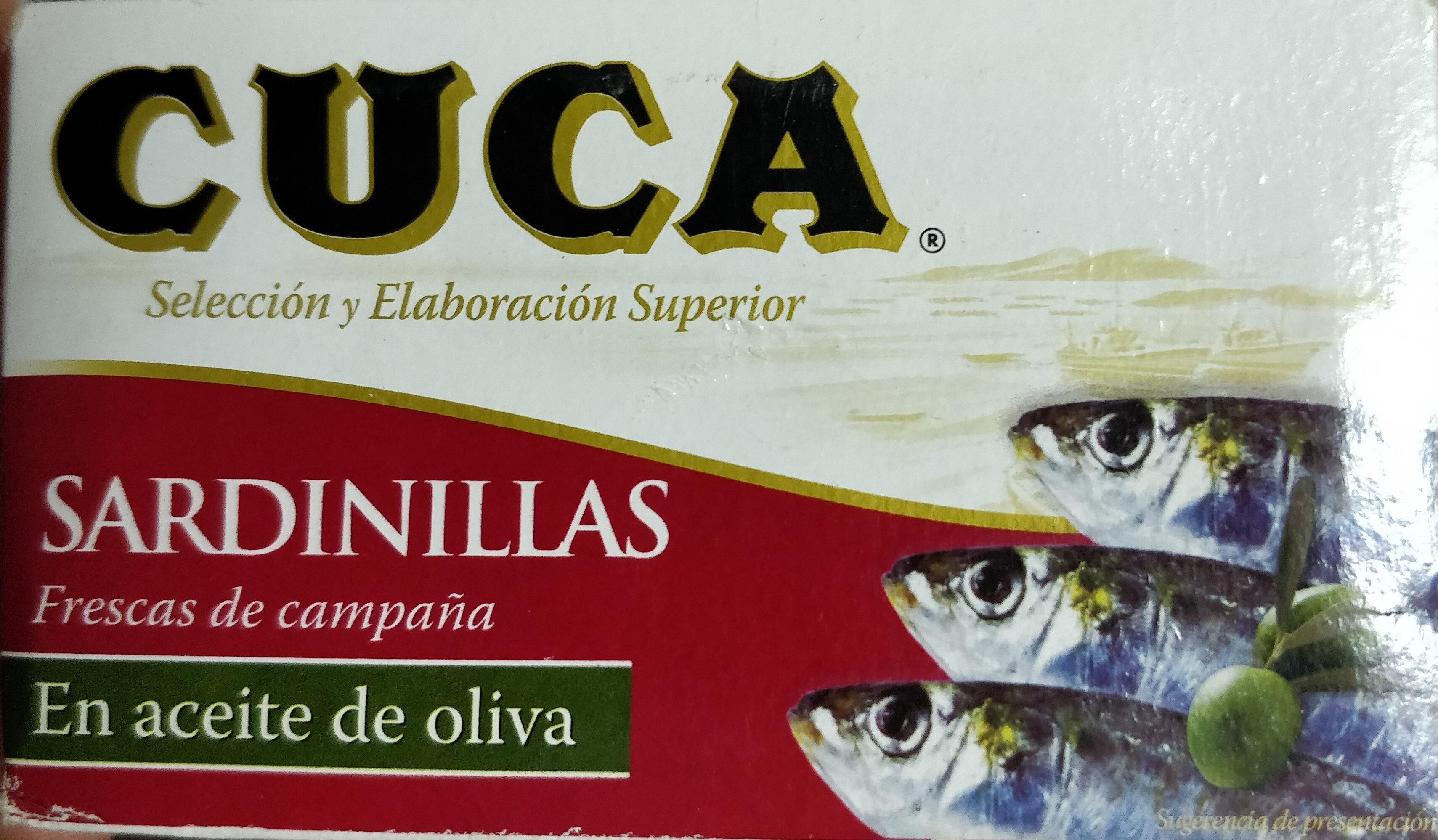 Sardinillas aceite de oliva - Producto