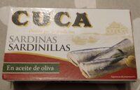 Sardinillas aceite de oliva - Producte
