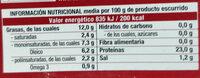 Sardinillas aceite de oliva - Información nutricional