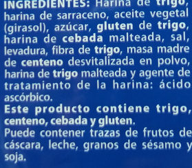 Picoteos - Ingredientes