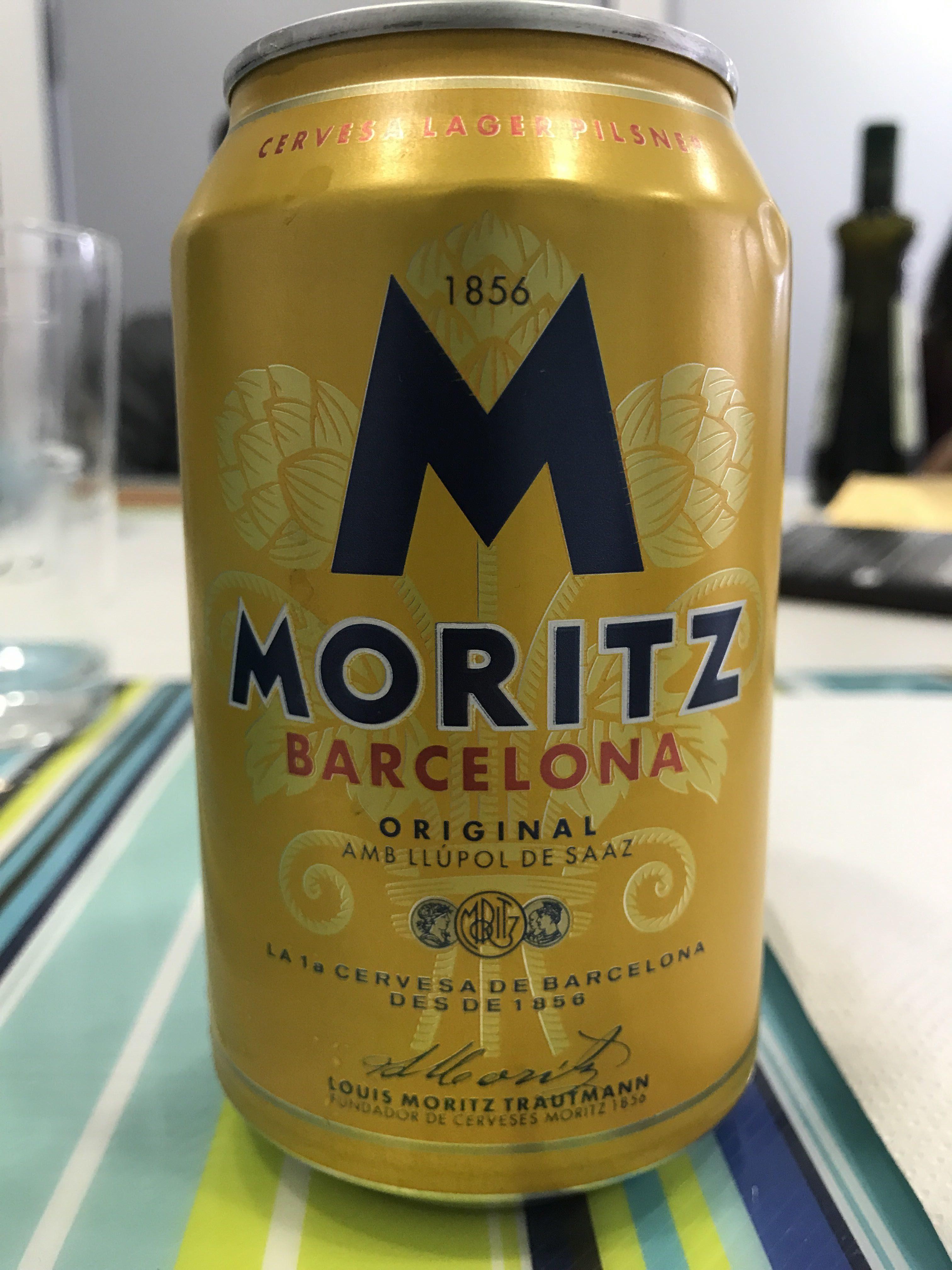 Moritz Cerveza Lata 33 CL - Producte - en