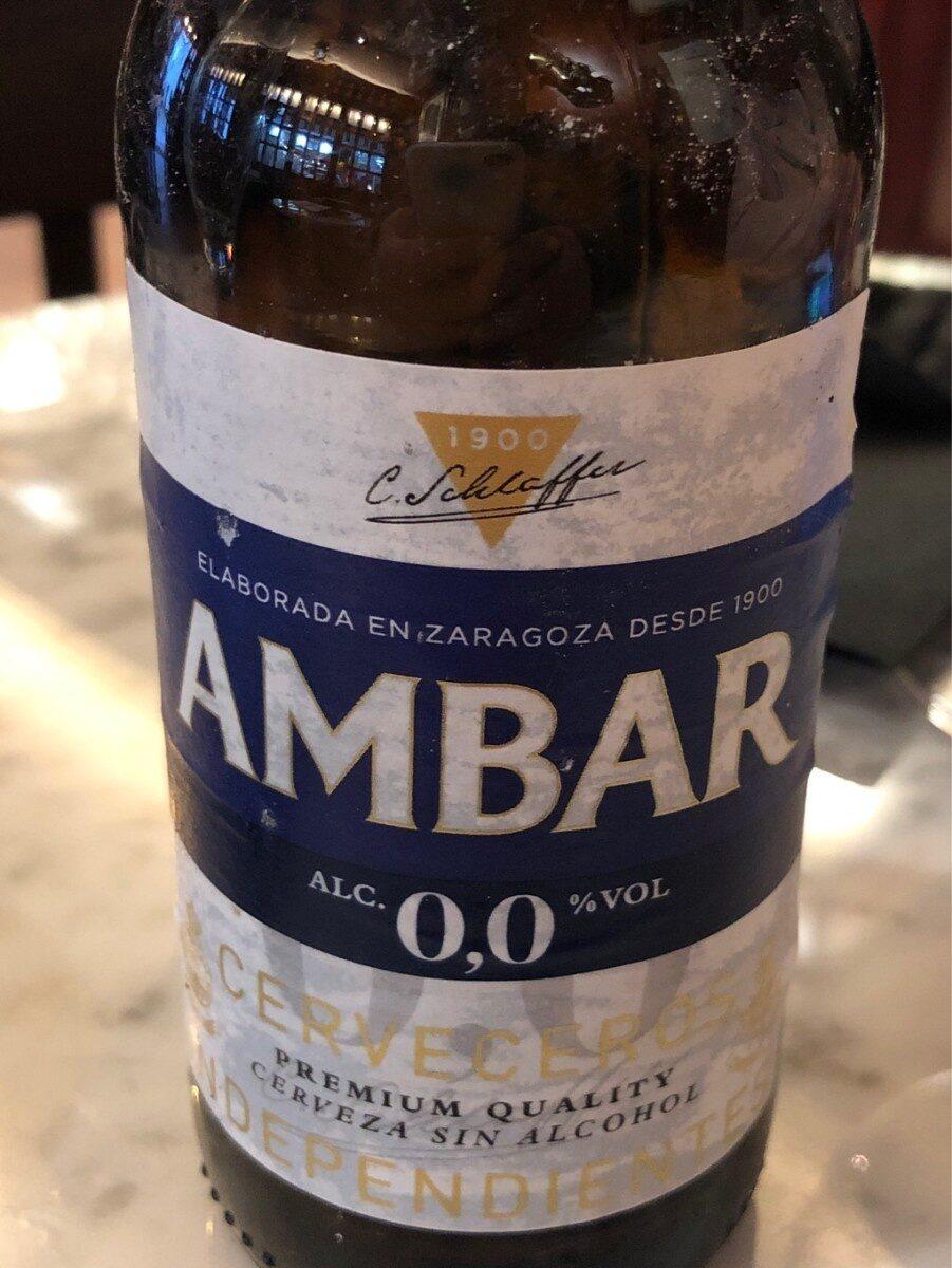 Cerveza 0,0 - Producto - es