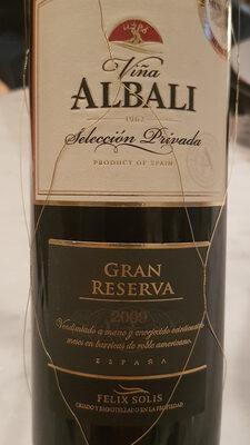 Viña Albali Gran Reserva 2009 - Producto