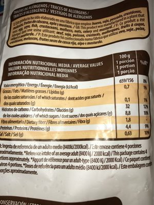 Churros MAHESO - Informations nutritionnelles - fr