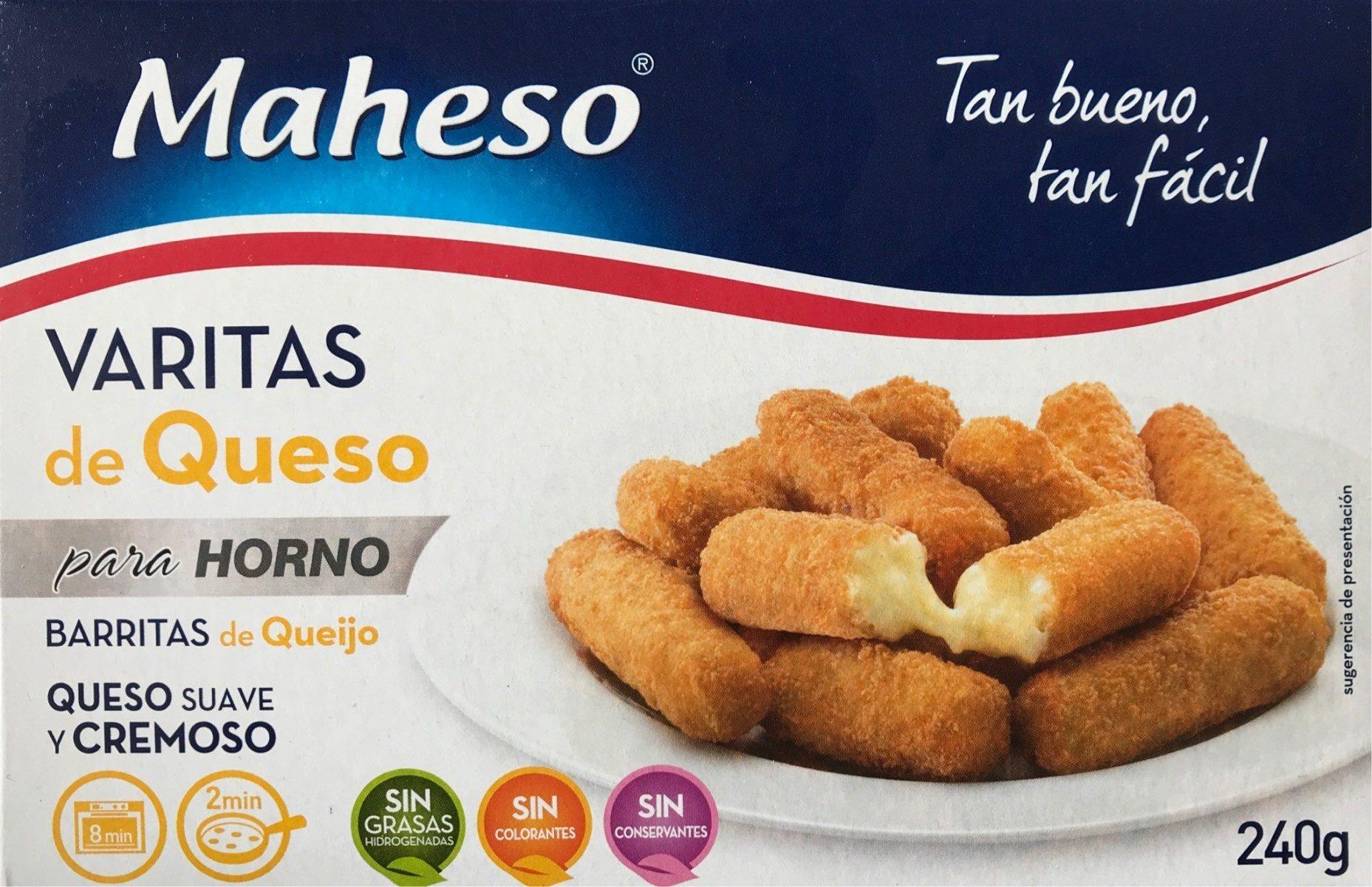 Maheso Varitas de Queso - Produit - fr