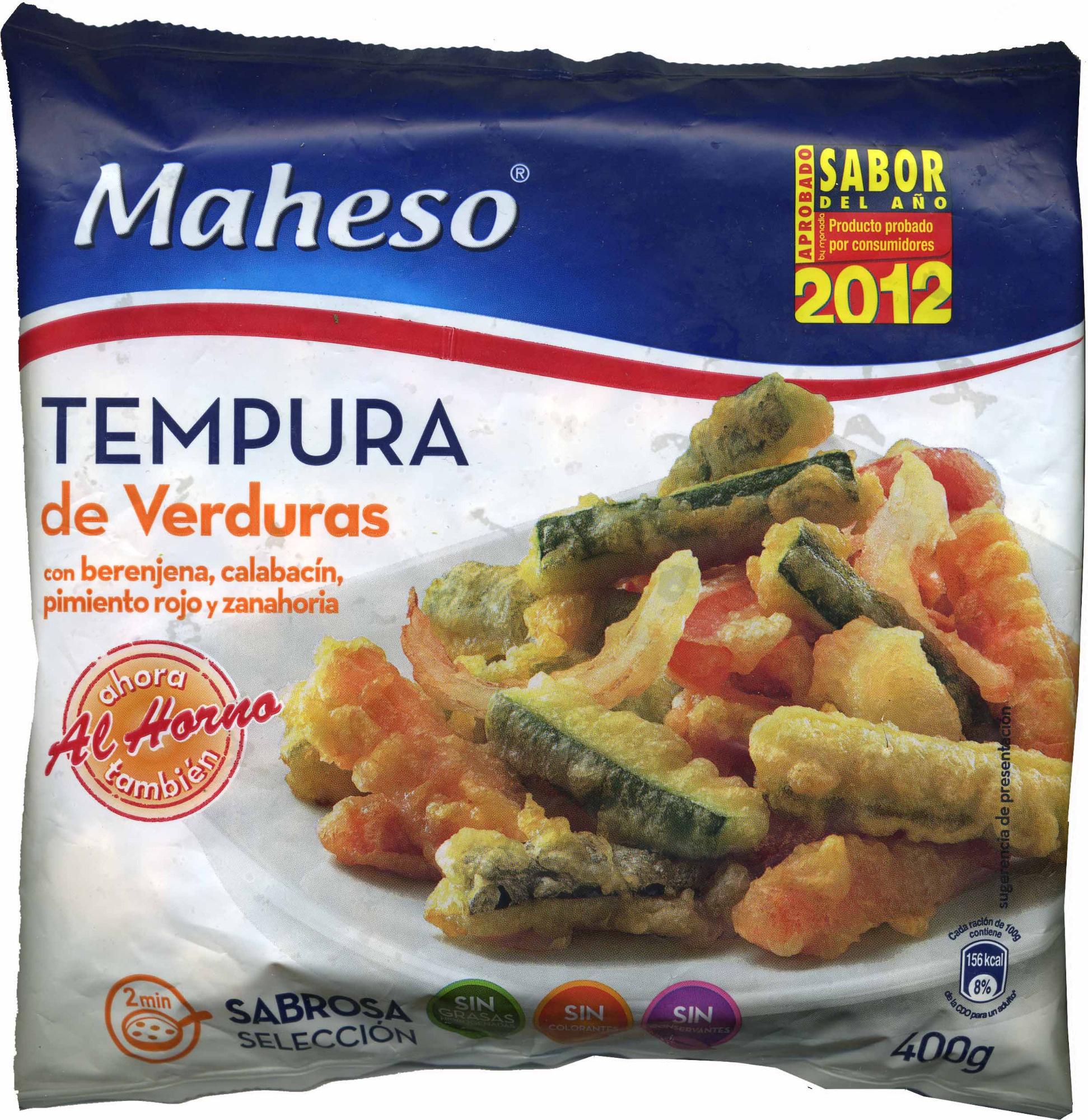 Tempura de verduras - Produit