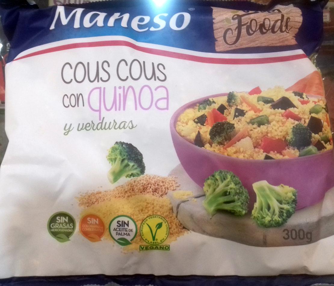 Couscous de quinoa et legumes - Produit