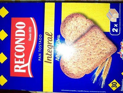 Pan tostado recondo integral - Product - es