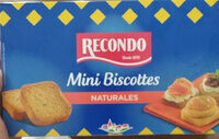 Mini biscotes - Produit