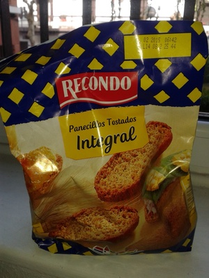 Panecillos tostados Integral - Producte