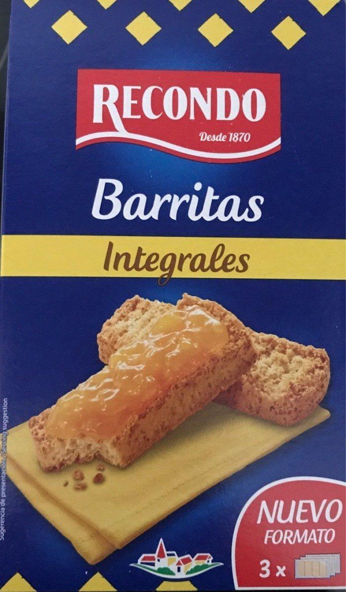 Barritas integrales - Producte