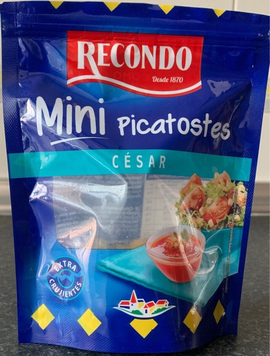 Mini Picatostes César - Producte