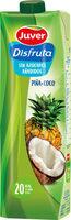 Exótico néctar de piña y coco sin azúcares añadidos brik - Producte - fr