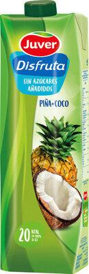 Exótico néctar de piña y coco sin azúcares añadidos brik - Producte