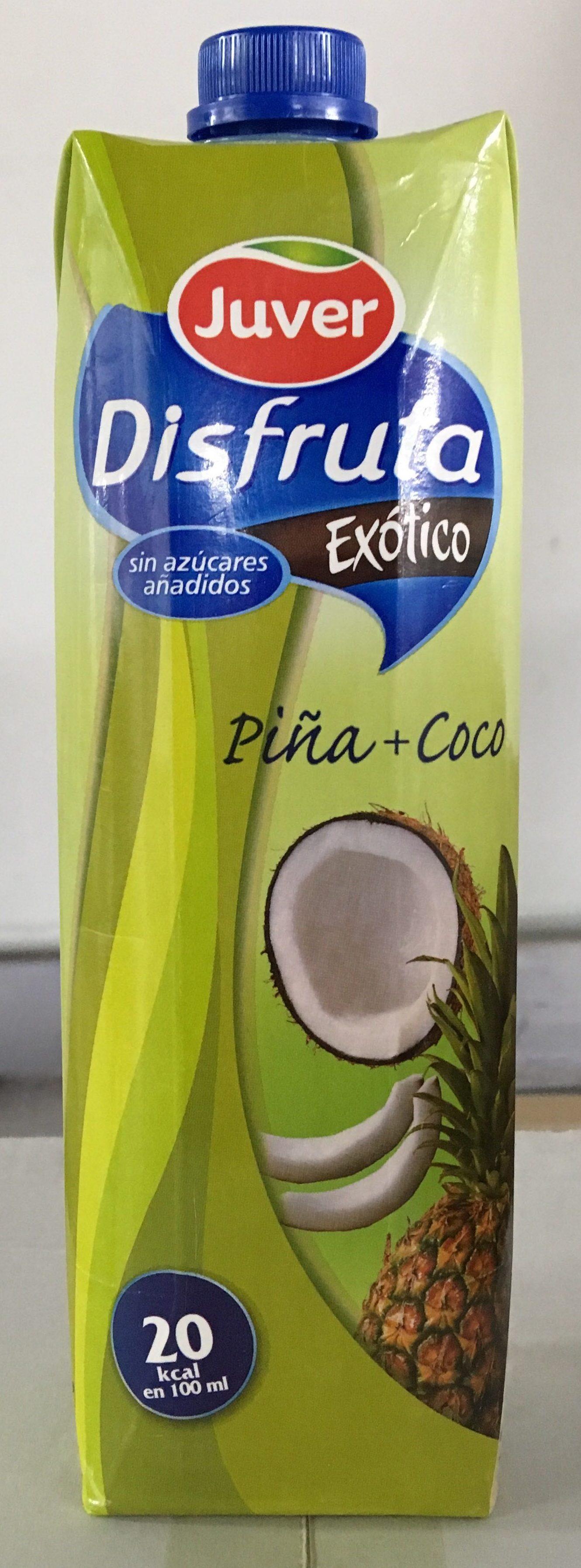 Exótico néctar de piña y coco sin azúcares añadidos - Producte - fr