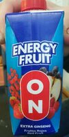 Energy fruit - Producto - es