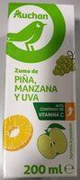 Zumo de piña, manzana y uva - Producto