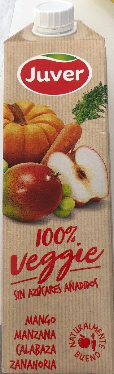 Veggies bebida de zumo de mango y manzana sin - Producto - es