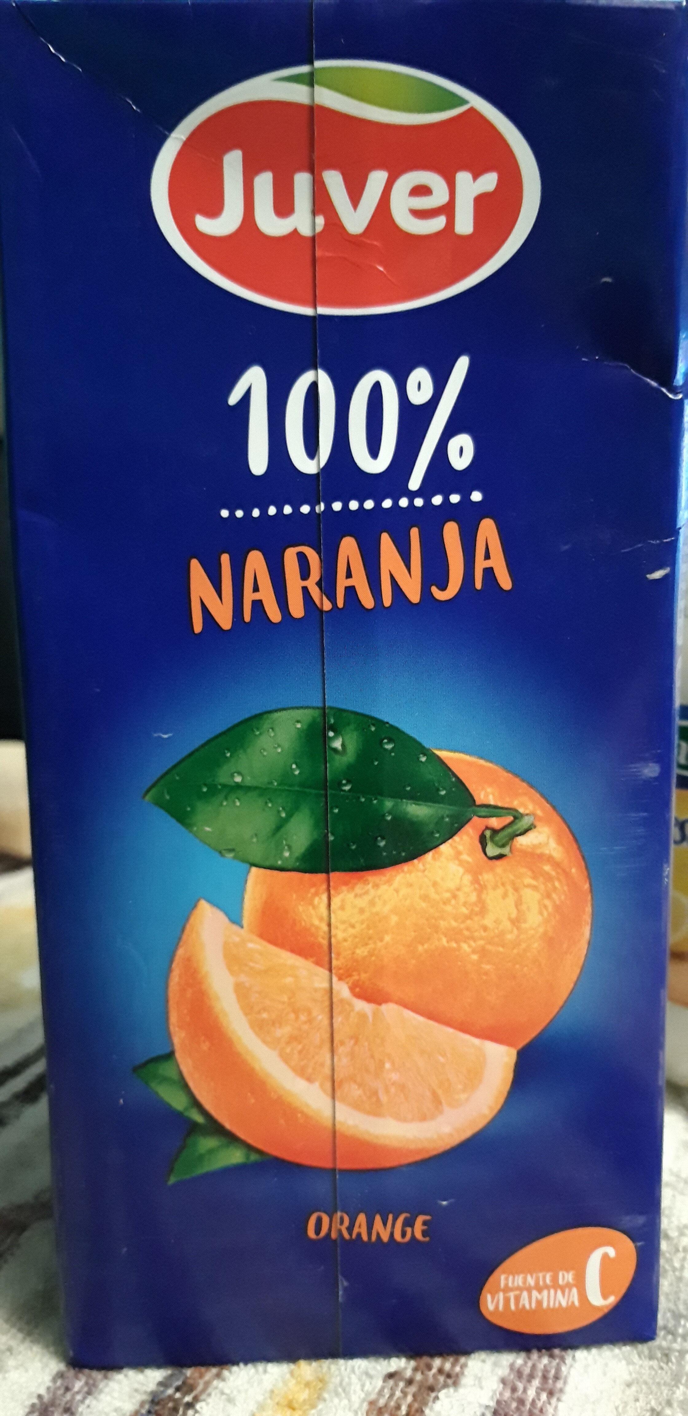 Juver 100% Orange - Producto