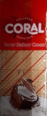 Galleta Coral Boer Coco 330GR. - Producte - fr