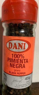 100% Pimienta Negra