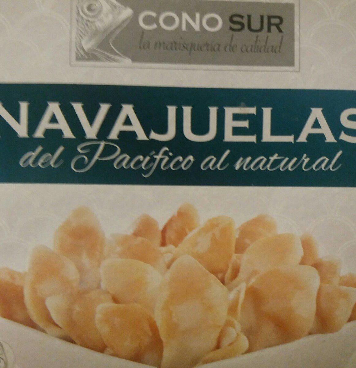 Navajuelas del pacífico al natural - Produit - fr