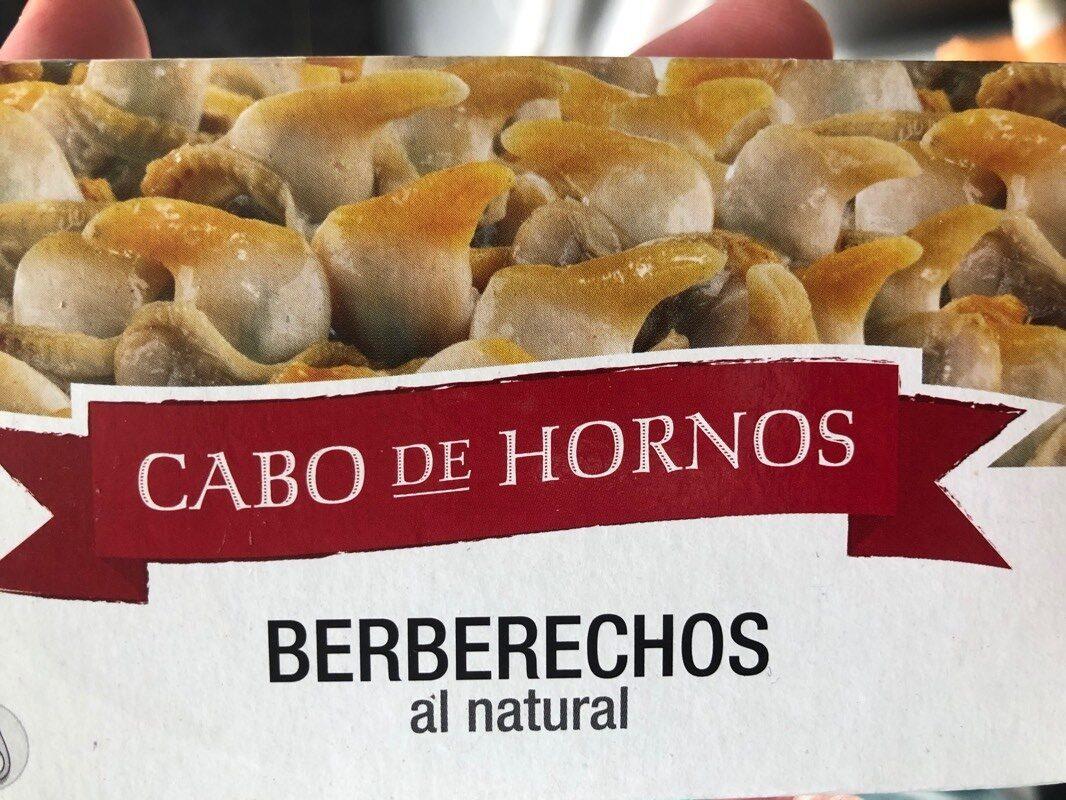 Berberechos al natural - Produit - es