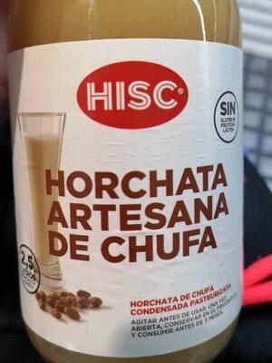 Horchata artesana de chufa
