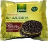 Tortitas de maíz con chocolate negro Diet Nature