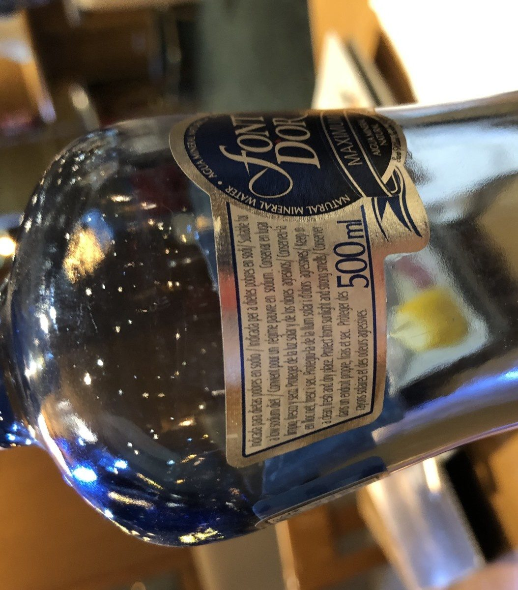 Maximum botella 50 cl - Ingredients