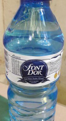 FONT D'OR - Ingredientes - fr