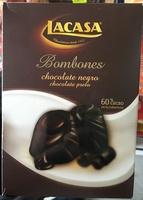 Bombones chocolate negro - Producto